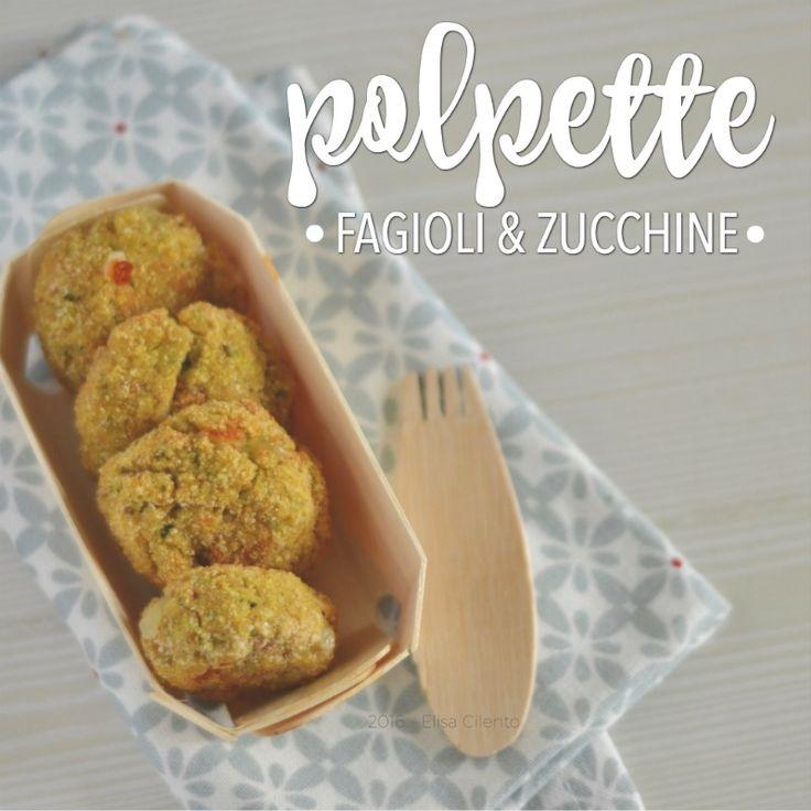 Polpette di fagioli e zucchine: la ricetta semplice e veloce che piace ai bambini. Vegetariana. Polpette con legumi per tutte le stagioni.