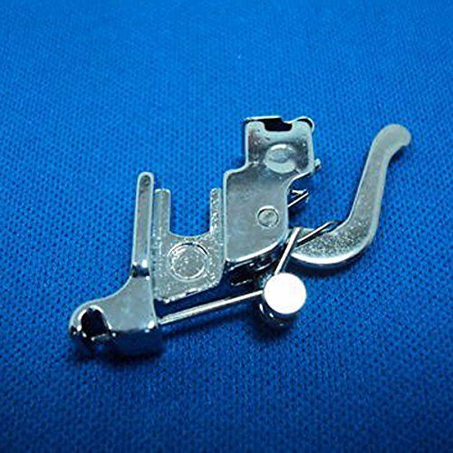Tinksky Durable Sewing Machine Snap On Low Shank Presser Foot Holder for Brother Singer Janome Toyota  Description  The item is a simple and practical Snap On Low Shank Presser Foot Holder, which is made of durable hard metal material, and suitable for all low-shank sewing machine Brother, Singer, New Home, Janome, Toyota, E R, etc. Only to snap onto the holder on the machine, so you can use and change any snap-on foot without using a screwdriver.   Features  – Color: as shown in th..