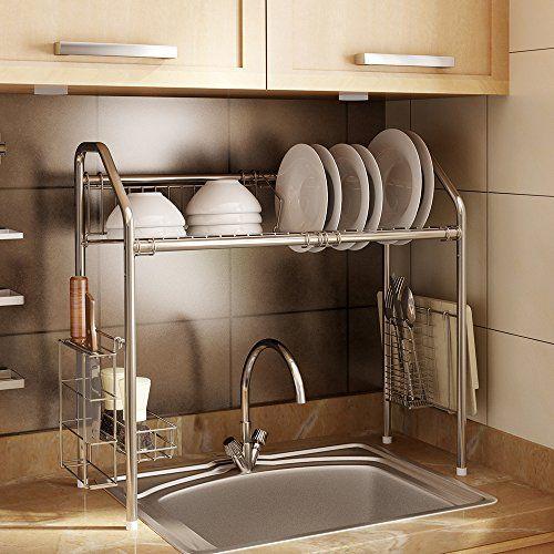 1208S Dish Dryer Rack Stainless Steel Sink Storage Shelf ... https://www.amazon.com/dp/B01NBRFCGL/ref=cm_sw_r_pi_dp_x_tbQqzbF1NZ0Z2