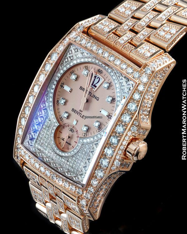 Breitling Flying B Bentley price on request 18K Rose Gold w/Diamonds