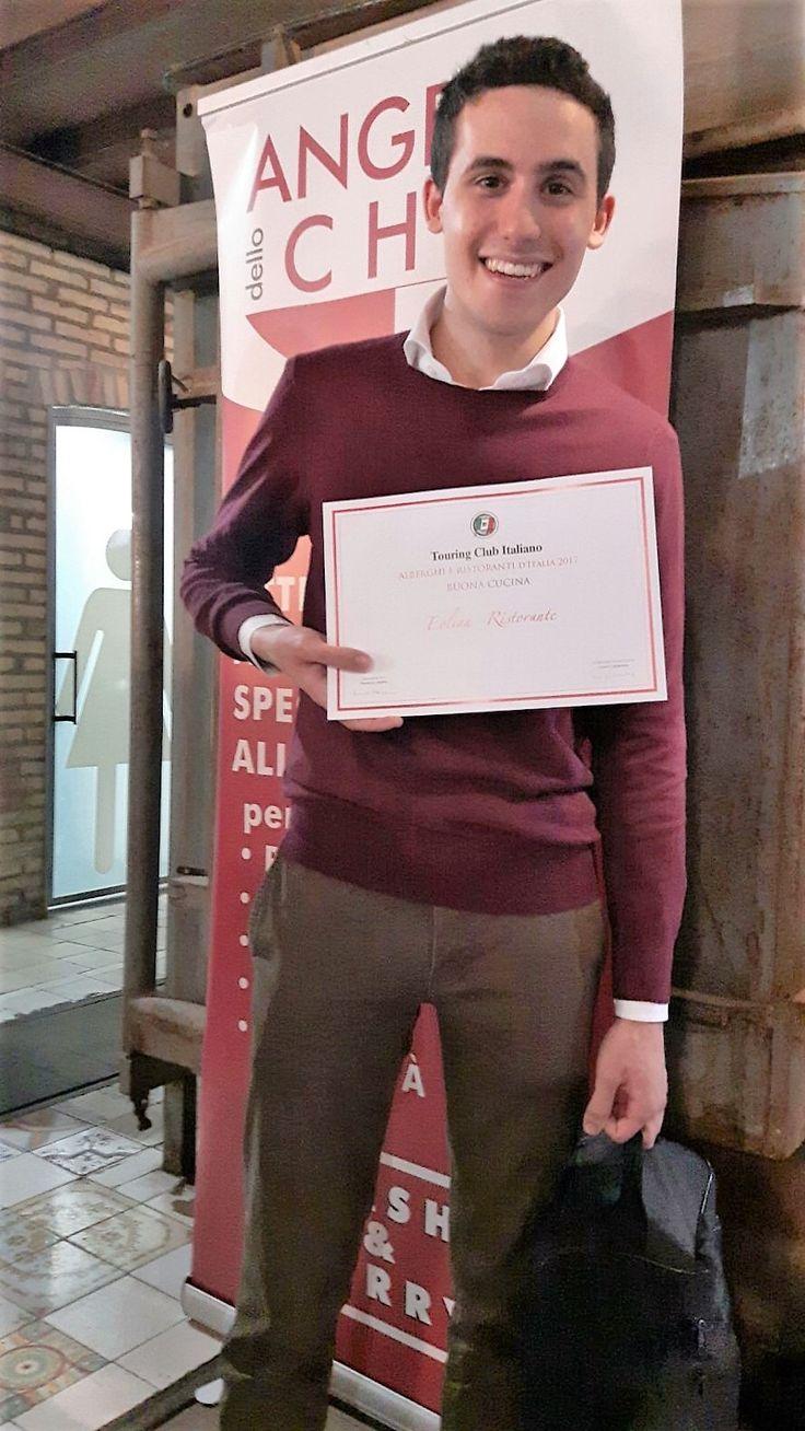 """Con grande soddisfazione, il nostro ristorante Eolian Milazzo Ristorante, si aggiudica il Premio """"BUONA CUCINA"""" della rubrica Touring Club Italia."""