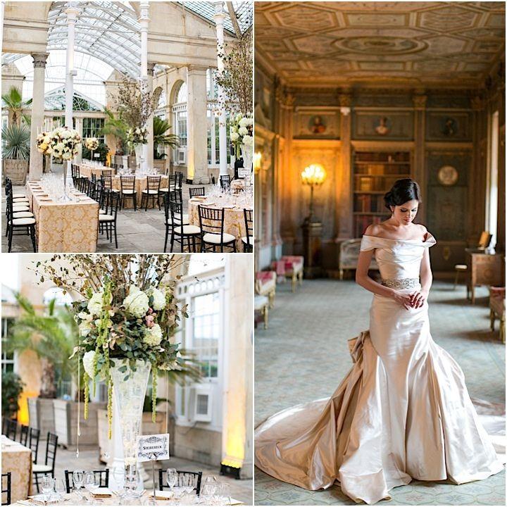 "Amazing London Wedding at Syon House Defines ""Classic Elegance"" - MODwedding"