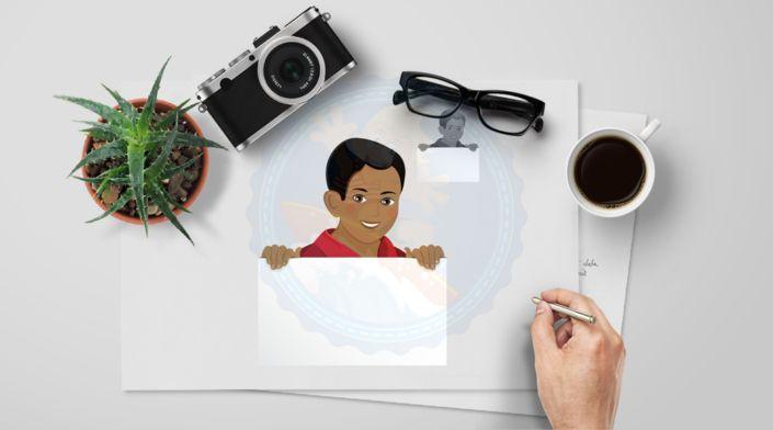 Teen Boy | Middle School Kids | African American Boy | Notification Board