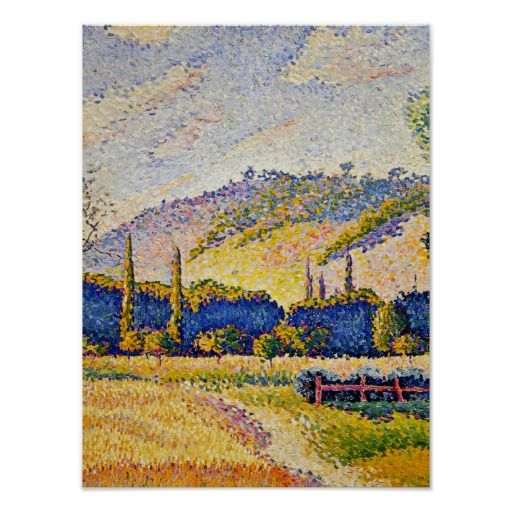 choppy layered haircuts henri edmond cross pointillism 1000 images about 1892