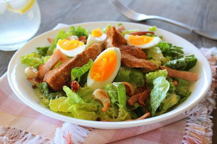 THM: Chicken Caesar Salad Thermomix