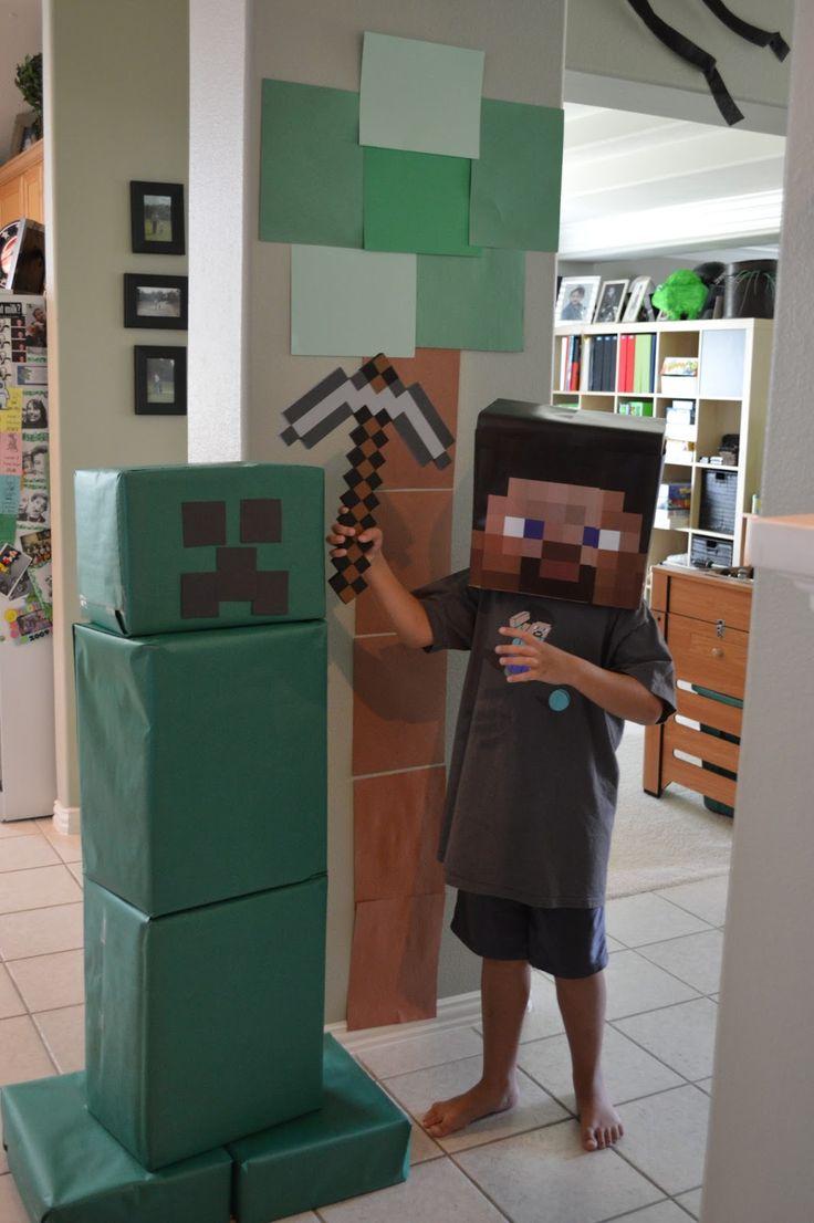 Mine craft birthday ideas - Minecraft Party Games Google Search Minecraft Birthday Decorationsminecraft Party Gamesminecraft