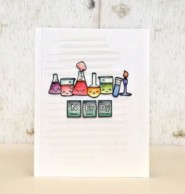 Sweet Stamp Shop Elements Nerdy Birthday Card #ssselements
