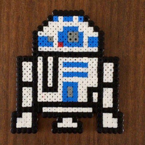 Modèle de perles à repasser Star Wars