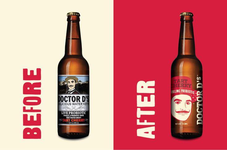 Doctor D's Probiotic Drinks — The Dieline - Branding & Packaging Design