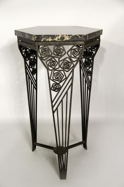 Best 25 wrought iron console table ideas on pinterest wrought iron table legs irons and - Deco table rose ...