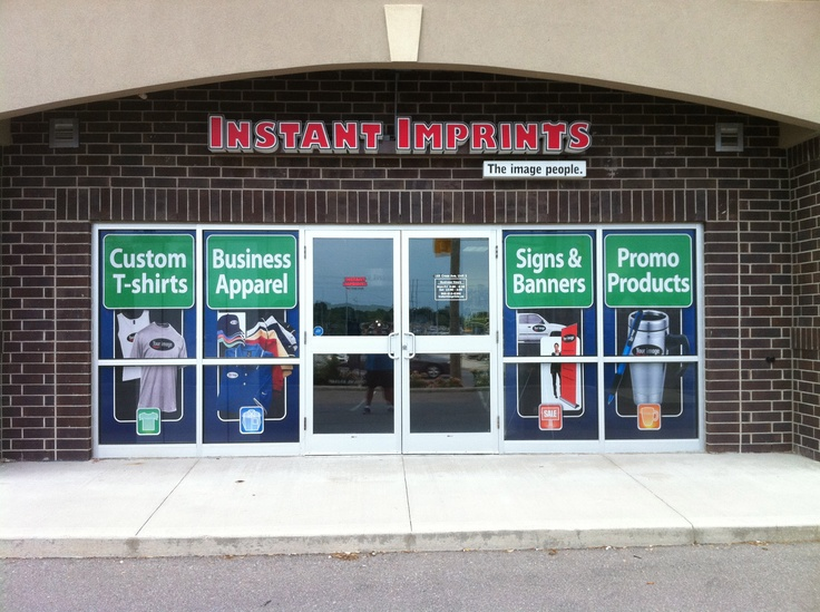 Instant Imprints in Oakville, Ontario Custom business