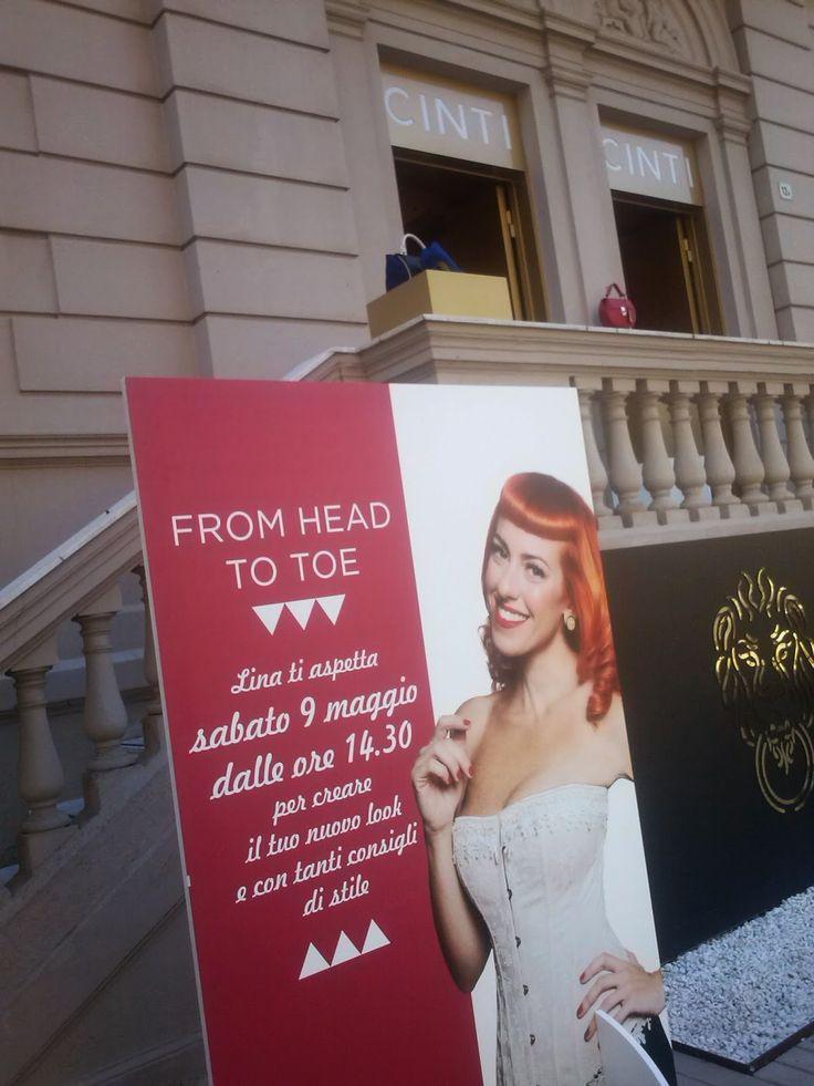 la sciarpa viola: From head to toe: lezioni di stile con Lina Powder...