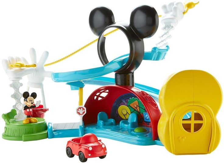 Disney Mickey Mouse Clubhouse Zip, Slide And Zoom Playset Fisher Price Kids Toy  #FisherPrice