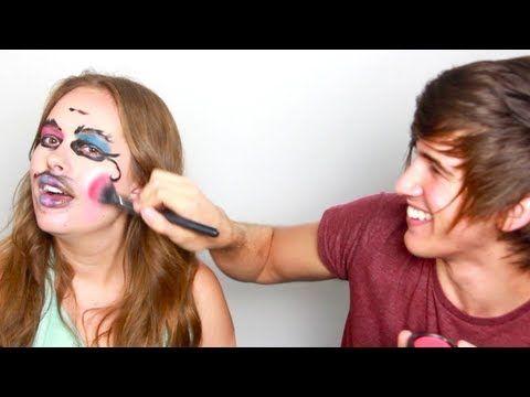 Joey Graceffa Does Tanya Burr's Makeup! >>>>>> OMG! WATCH THIS IT'S SOOOO FUNNNY!!!!! HAHAHAHAHAHAHAHA!