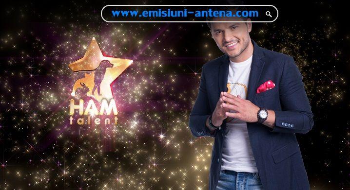 """Emisiunea """"Ham Talent"""", produsă de Mona Segall, debutează duminică, 18 octombrie, de la ora 20.30, la Antena 1, fiind primul show de televiziune din România cu şi despre animale de companie.  """"Ham T"""