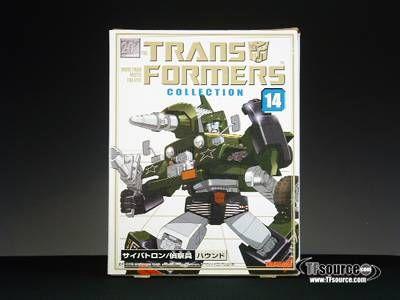 #transformer reissue - transformers collection - tfc #14 hound - mib - 100% complete