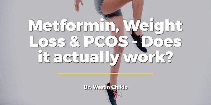 Metformin weight loss and PCOS - does it actually work?