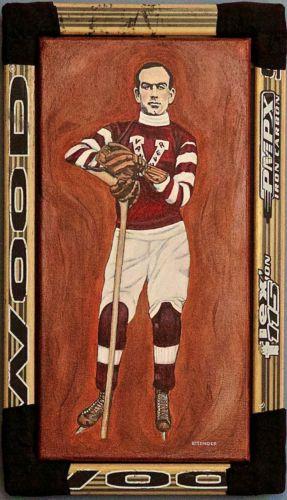 Cyclone-Taylor-Vancouver-Millionaires-Original-Hockey-Painting-Jennifer-Ettinger