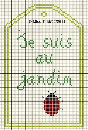 fleur - flower - jardin - point de croix - cross stitch - Blog : http://broderiemimie44.canalblog.com/