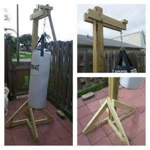 Image result for diy punching bag stand