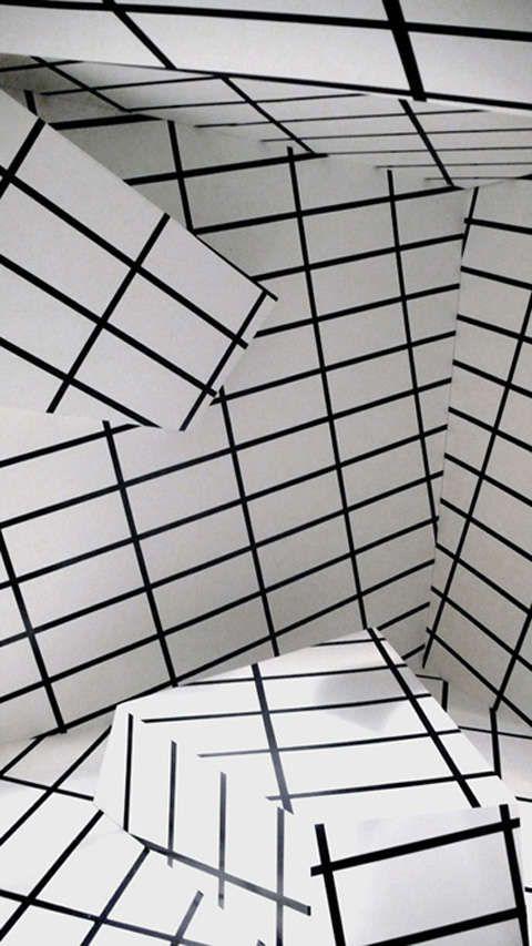 Shape-Shifting Installations : Peter Kogler