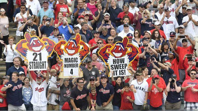 ¡Histórico! Los Indios de Cleveland logran su victoria 21 consecutiva #Beisbol #Deportes
