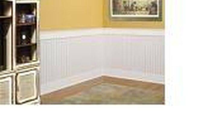Como instalar um revestimento de parede de compensado