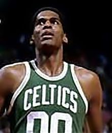Robert Parish during his tenure with the Celtics