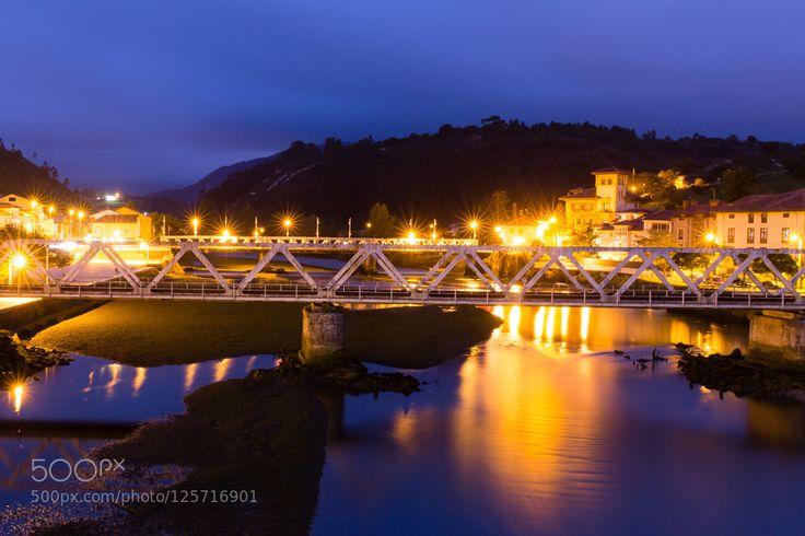 Unquera-Bustio border between Asturias and Cantabria by FranciscoJavierDiazRevorio. Please Like http://fb.me/go4photos and Follow @go4fotos Thank You. :-)
