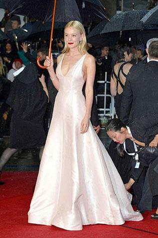 Cannes Film Festival 2013 Best Celebrity Dresses - Carey Mulligan  #Cannes #celebrities #celebritystyle #redcarpetfashion