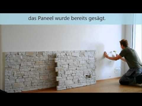 Ostermann - GFK-Steinpaneele - Verarbeitungsvideo - YouTube