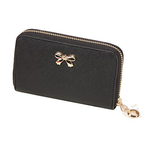 Lacaca Women Korean Cute Bowknot Purse Solid Wearable Short Wallet Handbag (Black) Lacaca http://www.amazon.co.uk/dp/B017K57K50/ref=cm_sw_r_pi_dp_xLXowb1RNS3WJ