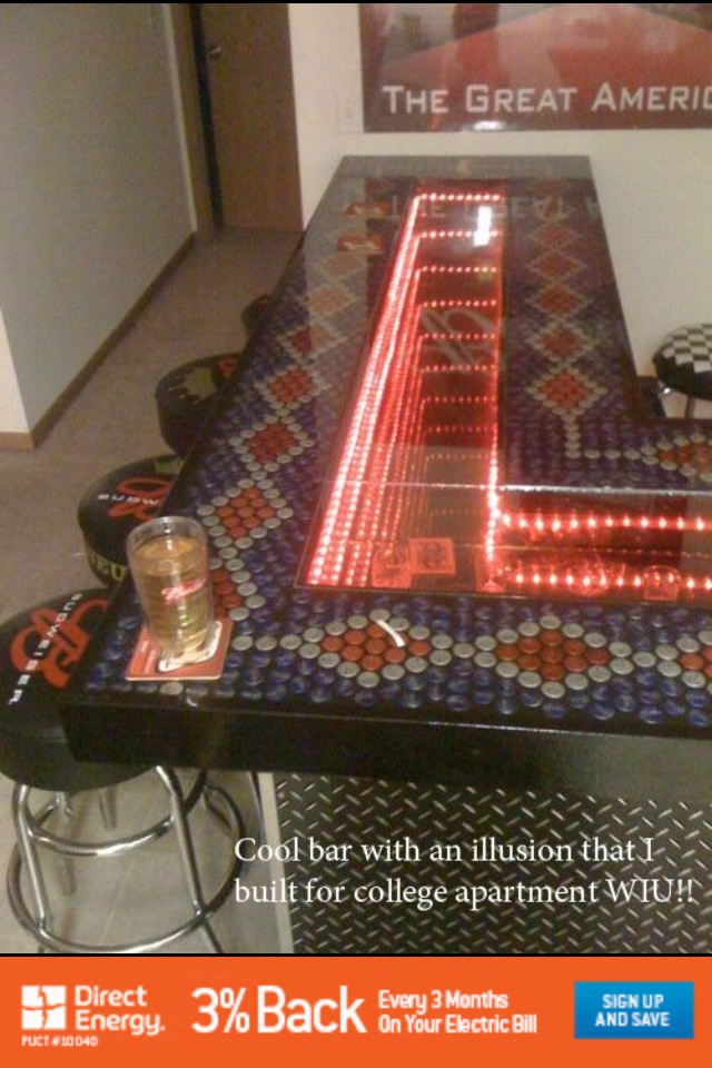 Cool home bar awesome compilation pinterest - Awesome home bar ...