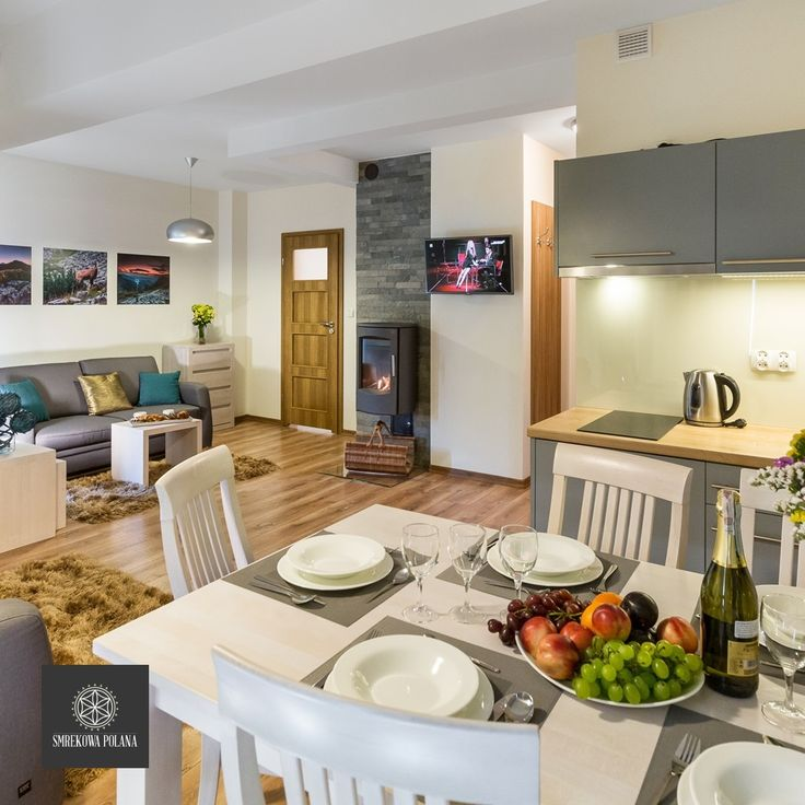 Apartament Kościelec - zapraszamy! #poland #polska #malopolska #zakopane #resort #apartamenty #apartamentos #noclegi #kitchenette #fireplace