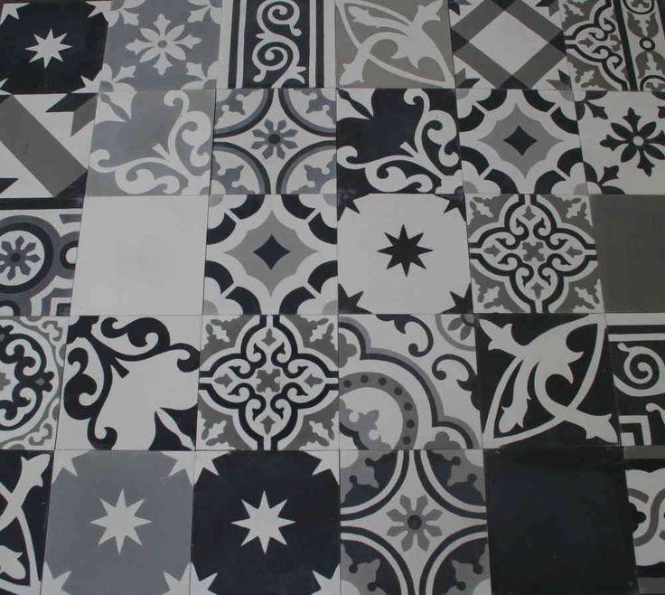 Relativ Die besten 25+ Fliesen schwarz weiß Ideen nur auf Pinterest  UR96