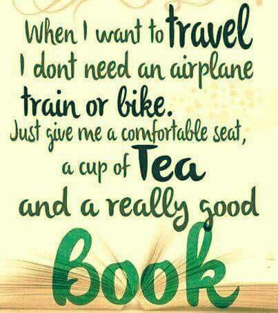 Just give me tea and a really good book.   8fb075926e4e3097bedf33718fc2fea4.jpg (403×454)