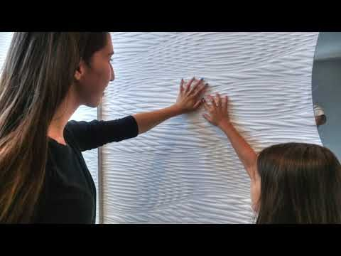M.R. Walls by Mario Romano: Designed with Corian® - YouTube