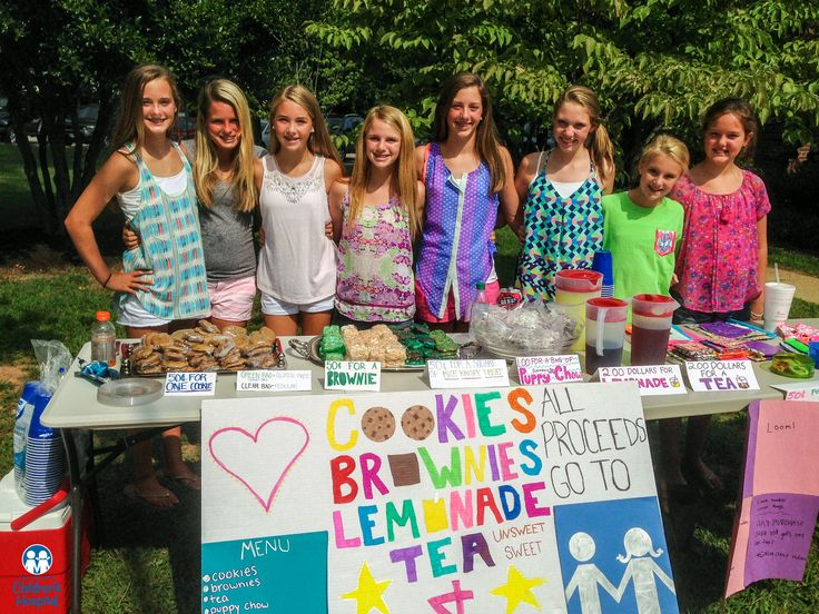 This past Election Day, these generous young ladies raised over $300 for East Tennessee Children's Hospital.