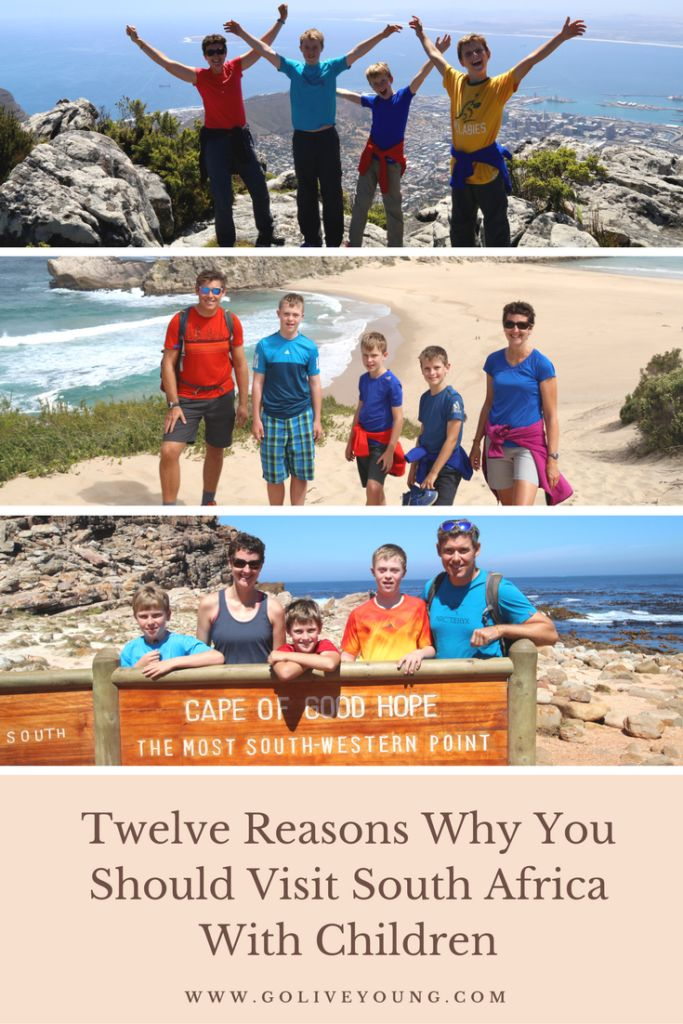 Twelve Reasons Why You Should Visit South Africa with Children. Top things to do and places to see with kids in South Africa.