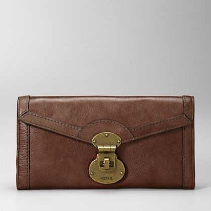 $50 leather clutch