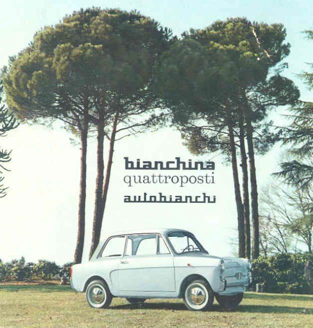 Autobianchi Bianchina brochure