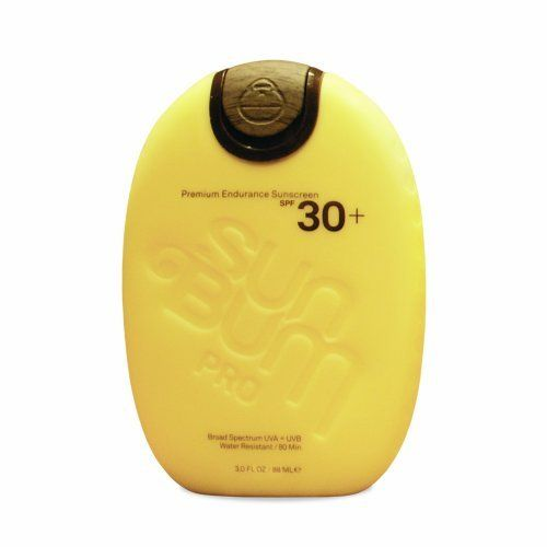 Sun Bum PRO Sunscreen, SPF 30, 3.0-Ounce by Sun Bum. Save 44 Off!. $10.04. Water Resistant / 80 Minutes (the highest possible rating). Tested, approved and recommended by The Skin Cancer Foundation. Broad Spectrum UVA / UVB Protection. Oxybenzone / Paraben / PABA Free. Non-Greasy / will not make your hands slippery. We believe quality, safety, and performance are the keys to getting more people to use sunscreen. Each ingredient and attribute is specifically chosen to provide our friends with…