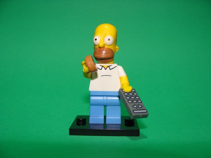 As in a south park episode we learn that simpsons did almost everything they also have reached even the lego universe.Now the one i want is his boss and i will feel complete.