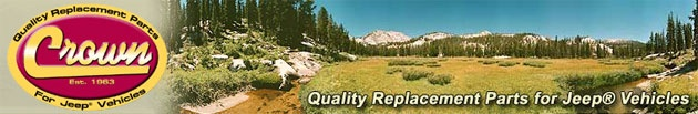 Crown Automotive OEM Style Replacement Jeep Parts