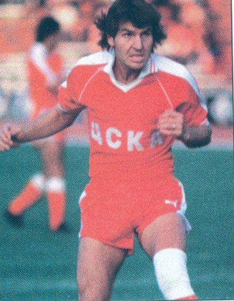 Legends never die. Georgi Slavkov (Botev, CSKA, Saint-Étienne, Chaves) 1980–81 Golden Boot winner