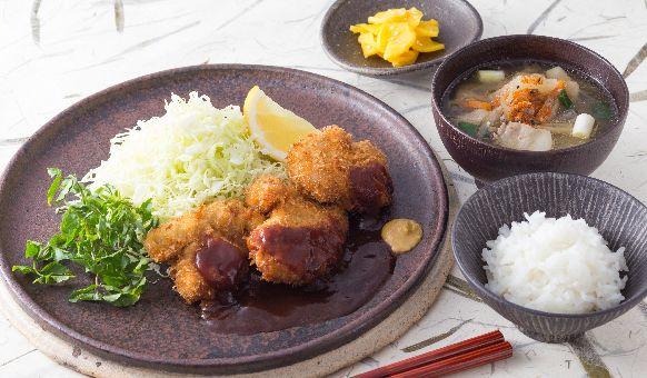 Tonkatsu   Fried Pork Tenderloin with Panko