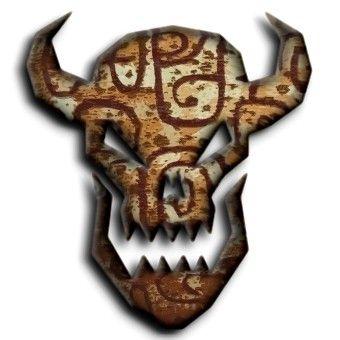 Voodoo Logo | 3D Horror Logo Generator - Create scary 3D demon logo effects online