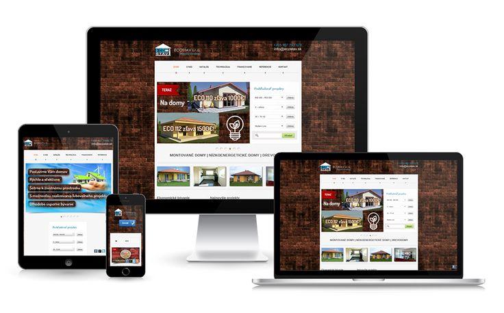 Montované domy - www.ecostav.sk #montovanedomy