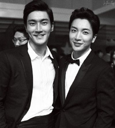SUPER JUNIOR | Park Jungsoo/Leeteuk with Choi Siwon