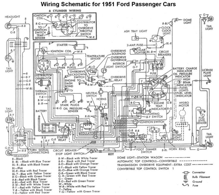 wiring for 1951 ford car wiring
